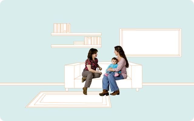 vrouwen-kind-bank